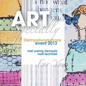 Art Specially, Stempelworkshops event 2013 (laatste exempl)