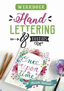 Handlettering en doodles WERKBOEK, Marieke Blokland