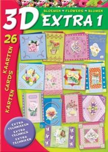 Studio Light 3D Extra boek BO3D- E1 Bloemenboek