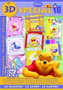 Studio Light 3D Special boek BO3D-18 Disney Winnie the Pooh