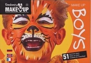 Make-up voorbeeldenboek Boys, SHV038 Fantasy Make Up