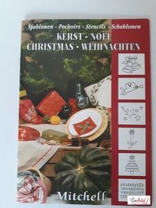 Mitchell Sjablonenboekje, Kerst 9713101006543