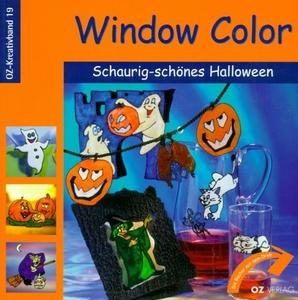 UITVERKOCHTWindow Color OZ-Kreativband 19 Halloween motieven