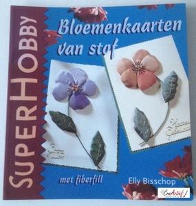 SuperHobby 326764 Bloemenkaarten met stof en fiberfill