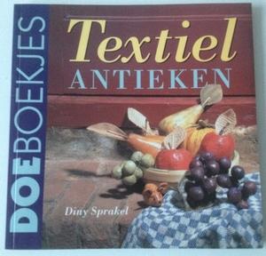 DoeBoekje 411162 Textiel antieken, Diny Sprakel