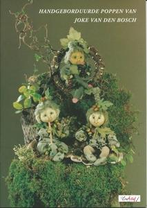Handgeborduurde poppen van Joke van den Bosch, deel 1