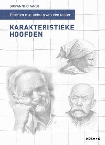 Karakteristieke hoofden tekenen mbv een raster, G. Civardi