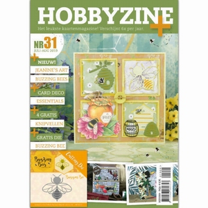 Hobbyzine plus 31 HZ01904 o.a. Jeannine's Arts, Buzzing Bees