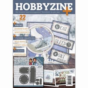Hobbyzine plus 22 HZ01801o.a. Janine's Art, Winter en Lente