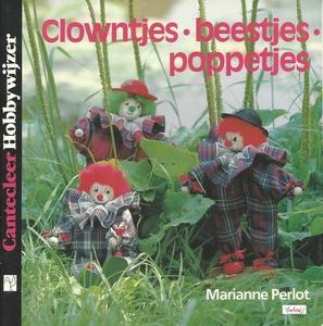 Cantecleer Hobbywijzer  88 Clowntjes . Beestjes . Poppetjes