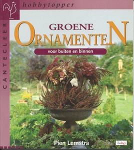 Cantecleer Hobbytopper Groene Ornamenten, Pien Lemstra