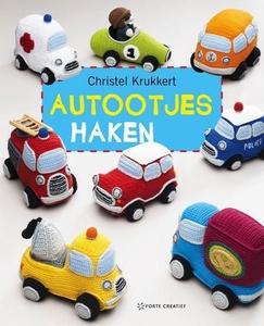 NIEUW Haken: Autootjes haken, Christel Krukkert