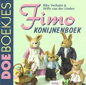 DoeBoekje 410142 Fimo Konijnenboek, Riky Verhulst