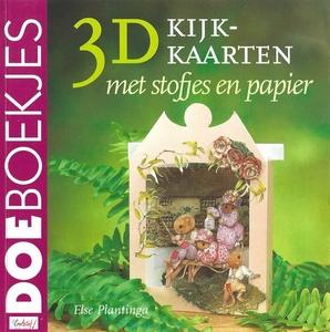 DoeBoekje 12738 3D kijkkaarten met stofjes, Else Plantinga