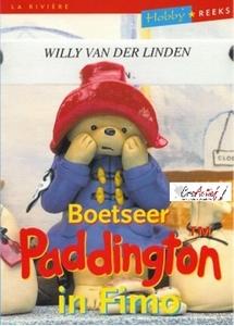 Boetseer Paddington in Fimo, Willy van der Linden