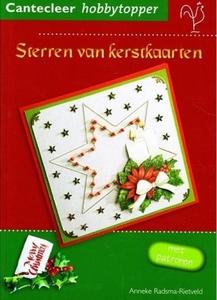 Cantecleer Hobbytopper Sterren van Kerstkaarten, A. Radsma