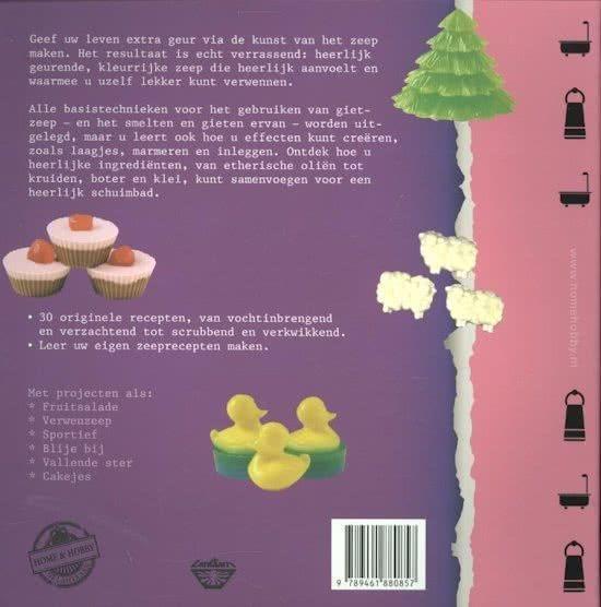 Home en Hobby boek: Zeep maken, Elaine Stavert