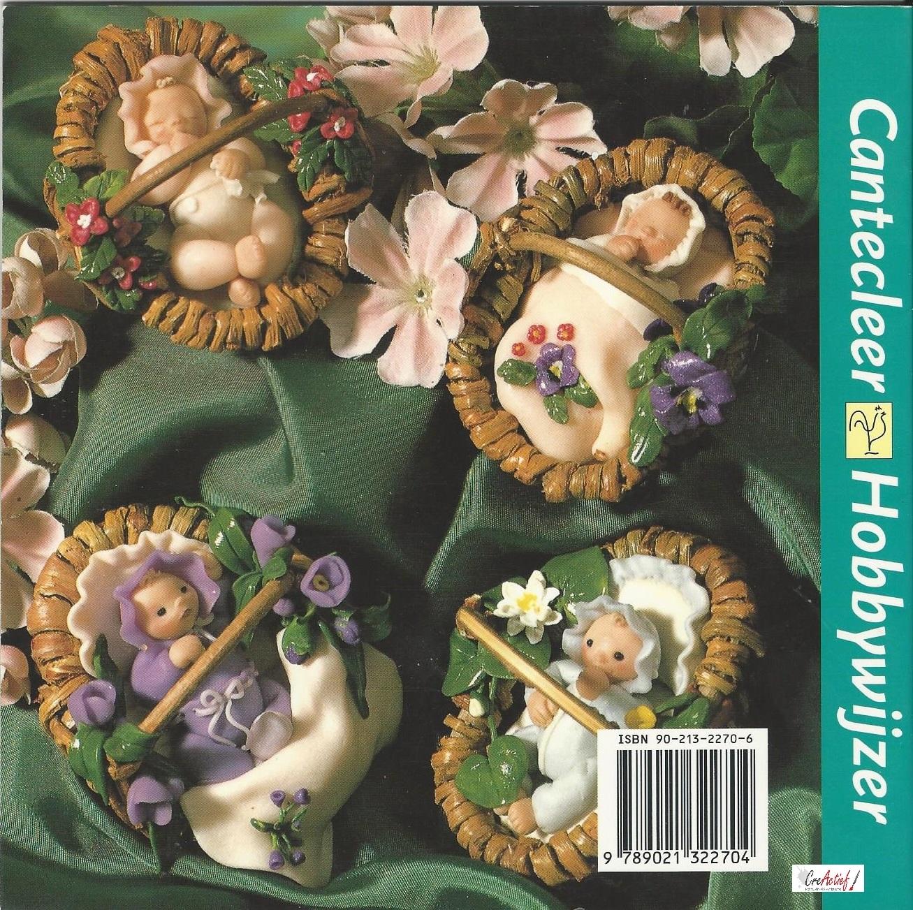 Cantecleer Hobbywijzer 157 Baby's van Fimo en Cernitklei