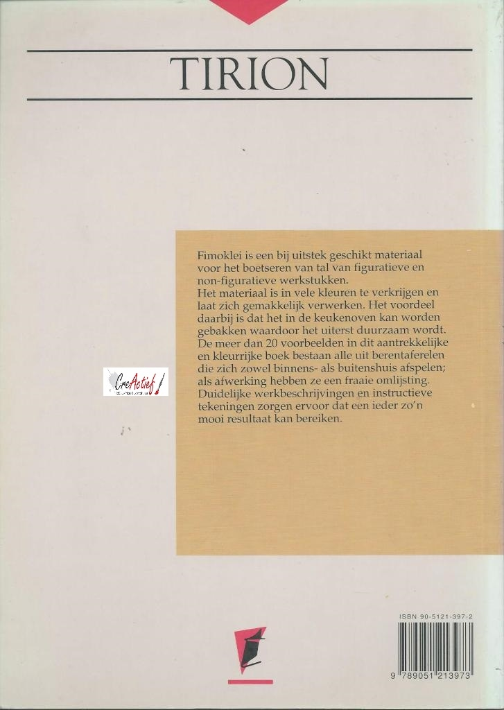 Fimo in een lijstje (1), Ineke Rothweiler/Wim Kros