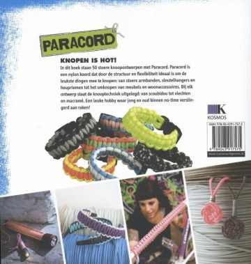 Paracord, knoop it yourself. Thade Precht