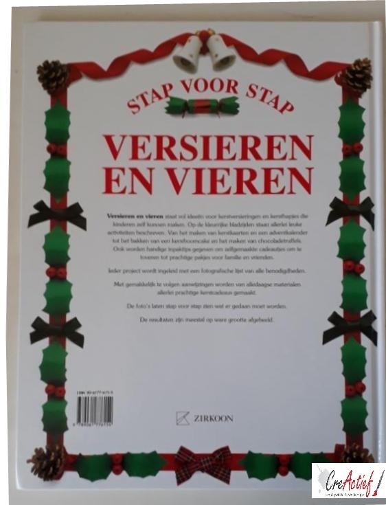 uitg. Zirkoon, Stap voor Stap boek; Versieren en Vieren