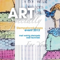 Art Specially, Stempelworkshops event 2013 (laatste exempl)