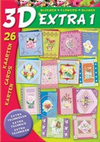 Studio Light 3D Extra boek BO3D- E1 Bloemenboek