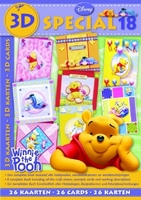Studio Light 3D Special boek BO3D-18 Disney Winnie the Pooh