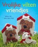 Forte boek Vrolijke Vilten Vriendjes, Erna Vis - v.d. Ster