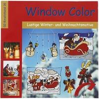 UITVERKOWindow Color OZ-Kreativband 20 Winter/Kerst motieven