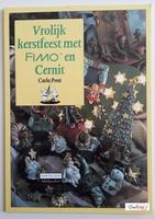 Cantecleer Hobbycahier Vrolijk kerstfeest met Fimo en Cernit
