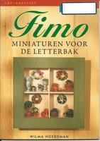 LRVKreatief Fimo miniaturen v.d. Letterbak,Wilma Hoedeman