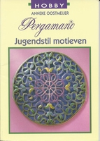LRVKreatief Pergamano Jugendstil motieven, Anneke Oostmeijer