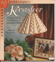 Cantecleer Hobbytopper Kerstsfeer, Christina de Blieck