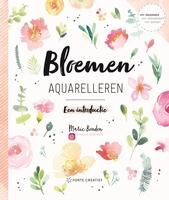 Bloemen Aquarelleren, Barie Boudon uitg. Forte