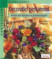 Cantecleer Hobbytopper Decoratief Perkament,Chr. de Blieck